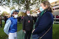 4th October 2020, Longchamp Racecourse, Paris, France; Qatar Prix de l Arc de Triomphe;  Pierre Charles Boudot - Mme Graffard