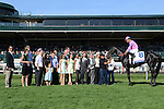 Aoril 12, 2014:   Dance with Fate and jockey Corey Nakatani win the G1 Toyota Blue Grass S. at Keeneland for owners Sharon Alesia, Bran Jam Stable and Ciaglia Racing and trainer Peter Eurton.Jessica Morgan/ESW/CSM