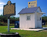 USA, Florida, Everglades: das kleinste Postamt der USA | USA, Florida, Everglades: smallest post office in the Unites States