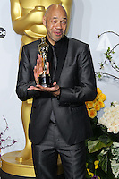 HOLLYWOOD, LOS ANGELES, CA, USA - MARCH 02: John Ridley at the 86th Annual Academy Awards - Press Room held at Dolby Theatre on March 2, 2014 in Hollywood, Los Angeles, California, United States. (Photo by Xavier Collin/Celebrity Monitor)
