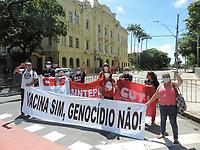 29/03/2021 - PROTESTO DE PROFESSORES EM RECIFE
