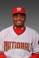 14 March 2008: ..Portrait of Tony Batista, Washington Nationals Minor League player at Spring Training Camp 2008..Mandatory Photo Credit: Ed Wolfstein Photo