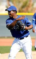 Neftali Feliz    - Texas Rangers - 2009 spring training.Photo by:  Bill Mitchell/Four Seam Images