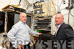 Dermot & Vincent Kidd from the Royal Hotel, Knightstown Valentia which was once the centre of Communications between Europe and the US is being left behind in the modern Communication era.
