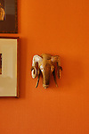 Property of the Week: 11 High Street, Linlithgow.<br /> <br /> Pictured: Ram ornament on wall in Sitting Room<br /> <br /> Image by: Malcolm McCurrach