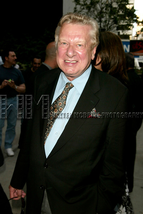 Brian Murray attending the Opening Night Performance for the Roundabout Theatre Company's Off Broadway production of  THE PARIS LETTER at the Laura Pels Theatre in New York City.<br /> June 9, 2005<br /> © Walter McBride