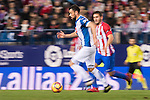 Javi Fuego of RCD Espanyol in action during the La Liga match between Atletico de Madrid and RCD Espanyol at the Vicente Calderón Stadium on 03 November 2016 in Madrid, Spain. Photo by Diego Gonzalez Souto / Power Sport Images