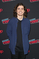 """NEW YORK CITY - OCTOBER 9:   Elliot Fletcher attends a 2021 New York Comic Con event for FX's """"Y: The Last Man"""" at the Javits Center on October 9, 2021 in New York City.  (Photo by Ben Hider/FX//PictureGroup)"""