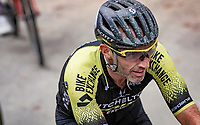 Last race for Michael Albasini (SUI/Mitchelton-Scott); finishing his pro-rider career up the infamous Mur de Huy<br /> <br /> 84th La Flèche Wallonne 2020 (1.UWT)<br /> 1 day race from Herve to Mur de Huy (202km/BEL)<br /> <br /> ©kramon