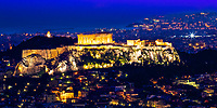 Athens' ancient archaeological wonders, in Greece, Southern Europe.