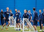 03.05.2019 Rangers training: Joe Worrall, Eros Grezda, Nikola Katic and Glenn Middleton