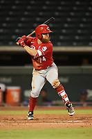Blake Dunn (74) of the ACL Reds during a game against the ACL Cubs on September 17, 2021 at Sloan Park in Mesa, Arizona. (Tracy Proffitt/Four Seam Images)