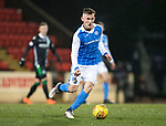 St Johnstone v Hibs…16.03.18…  McDiarmid Park    SPFL<br />George Williams<br />Picture by Graeme Hart. <br />Copyright Perthshire Picture Agency<br />Tel: 01738 623350  Mobile: 07990 594431