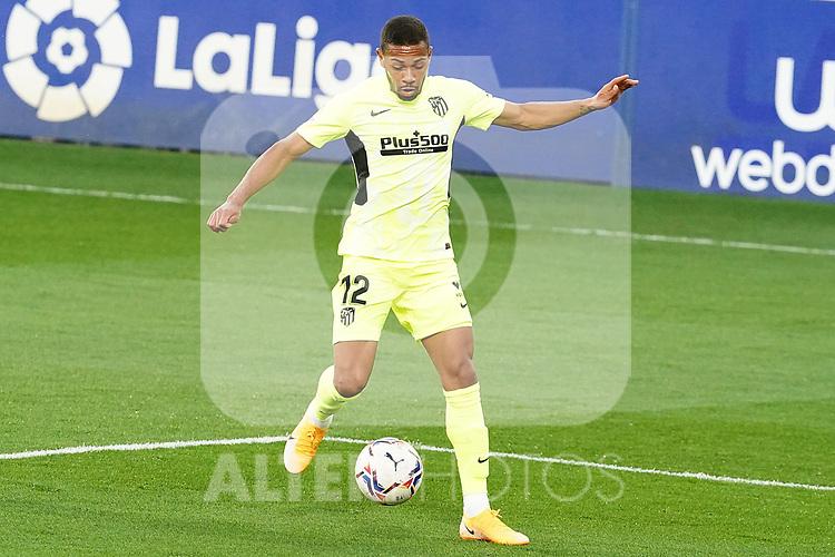 Atletico de Madrid's Renan Lodi during La Liga match. September 30,2020. (ALTERPHOTOS/Acero)