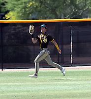 Robert Hassell III - San Diego Padres 2021 spring training (Bill Mitchell)