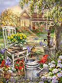 Dona Gelsinger, LANDSCAPES, LANDSCHAFTEN, PAISAJES, paintings+++++,USGE1615,#l#, EVERYDAY ,puzzle,puzzles