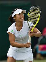 England, London, 25.06.2014. Tennis, Wimbledon, AELTC, Kurimi Nara (JPN)<br /> Photo: Tennisimages/Henk Koster