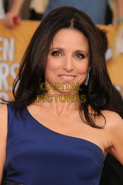 18 January 2014 - Los Angeles, California - Julia Louis-Dreyfus. 20th Annual Screen Actors Guild Awards - Arrivals held at The Shrine Auditorium. Photo Credit: Byron Purvis/AdMedia<br /> CAP/ADM/BP<br /> ©Byron Purvis/AdMedia/Capital Pictures