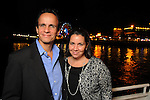 Alberto and Fernanda Caudillo at the second annual Texas Children's Cancer Center Casino Night Cruise in Kemah Friday Oct. 08, 2010. (Dave Rossman/For the Chronicle)