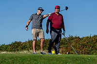 Pictured: during The Wave golf day at Clyne Golf Club in Mayals, Swansea, Wales, UK. Friday 20 September 2019