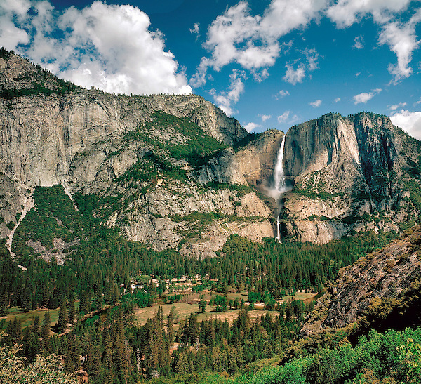 Yosemite Falls, Yosemite National Park, Merced, California .  John offers private photo tours throughout the western USA, especially Colorado. Year-round.