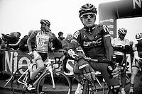 Nokere Koerse 2012.Adam Blythe at the start