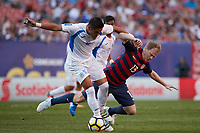 Cleveland, Ohio - Saturday, July 15, 2017: Dax McCarty during the USMNT vs Nicaragua in CONCACAF Gold Cup 2017 match at First Energy Stadium.