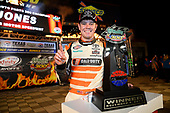 NASCAR XFINITY Series<br /> O'Reilly Auto Parts 300<br /> Texas Motor Speedway<br /> Fort Worth, TX USA<br /> Saturday 4 November 2017<br /> Erik Jones, GameStop Call of Duty WWII Toyota Camry, celebrates in victory Lane.<br /> World Copyright: John K Harrelson<br /> LAT Images