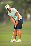 TAOYUAN, TAIWAN - OCTOBER 27:  Yani Tseng of Taiwan puts on the 17th green during the day three of the Sunrise LPGA Taiwan Championship at the Sunrise Golf Course on October 27, 2012 in Taoyuan, Taiwan.  Photo by Victor Fraile / The Power of Sport Images
