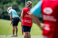 Brooke M. Henderson of Canada in act during day 4 of HSBC Women's World Championship 2018 at Sentosa Golf Club, Sentosa,, Singapore, on 4  March 2018, Singapore.  Photo by : Ike Li / Prezz Images