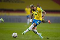 4th June 2021; Beira-Rio Stadium, Porto Alegre, Brazil; Qatar 2022 qualifiers; Brazil versus Ecuador; Gabriel Barbosa of Brazil takes a shot on goal