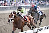 Edward Evans' Virginia-bred Quality Road, wins the Grade 1, $500,000 Metropolitan Handicap at Belmont Park on Memorial Day, May 31, 2010, defeating Musket Man by 1 1/2 lengths in 1:33.11.