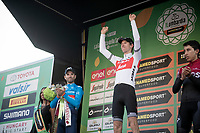 Bauke Mollema (NED/Trek-Segafredo) wins his first ever Monument Classic ahead of Alejandro Valverde (ESP/Movistar) & Egan Bernal (COL/Ineos)<br /> <br /> 113th Il Lombardia 2019 (1.UWT)<br /> 1 day race from Bergamo to Como (ITA/243km)<br /> <br /> ©kramon