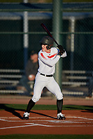 AJ Miller during the Under Armour All-America Tournament powered by Baseball Factory on January 18, 2020 at Sloan Park in Mesa, Arizona.  (Mike Janes/Four Seam Images)