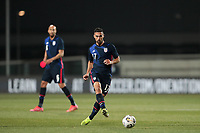 WIENER NEUSTADT, AUSTRIA - MARCH 25: Sebastian Lletget #17 of the United States during a game between Jamaica and USMNT at Stadion Wiener Neustadt on March 25, 2021 in Wiener Neustadt, Austria.