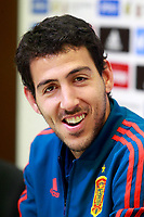 Spain's Daniel Parejo in press conference after training session. March 21,2018.(ALTERPHOTOS/Acero) /NortePhoto.com NORTEPHOTOMEXICO