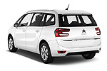 Car pictures of rear three quarter view of a 2018 Citroen Grand C4 Spacetourer Feel 5 Door MPV angular rear