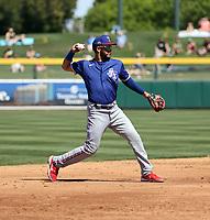 Anderson Tejeda - Texas Rangers 2021 spring training (Bill Mitchell)