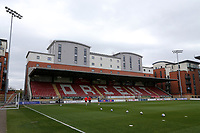 General view of the South Stand ahead of Leyton Orient vs Oldham Athletic, Sky Bet EFL League 2 Football at The Breyer Group Stadium on 27th March 2021