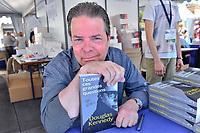 Douglas KENNEDY lors de la 22eme edition du Festival du Livre de Nice, Sud de la France, dimanche 4 juin 2017. Philippe FARJON / VISUAL Press Agency