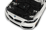 Engine high angle detail view of 2019 BMW 2 Series 230i Sport Line 2 Door Convertible
