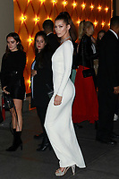 NEW YORK, NY - OCTOBER 20: Bella Hadid at Bvlgari Flagship Fifth Avenue Store Reopening on October 20, 2017 in New York City. Credit: Diego Corredor/MediaPunch /NortePhoto.com