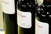 Fitou. Domaine les Milles Vignes. Fitou. Languedoc. France. Europe. Bottle.