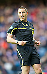 Rangers v St Johnstone....27.02.11 .Referee Steve McLean.Picture by Graeme Hart..Copyright Perthshire Picture Agency.Tel: 01738 623350  Mobile: 07990 594431