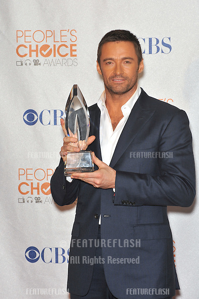 Hugh Jackman at the 2010 People's Choice Awards at the Nokia Theatre L.A. Live in Los Angeles..January 6, 2010  Los Angeles, CA.Picture: Paul Smith / Featureflash