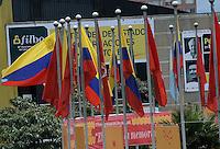 BOGOTA -COLOMBIA. 01-05-2014. La Feria Internacional del Libro de Bogotá 2014, FILBO, que tiene este año como país invitado a Perú es el evento de promoción de la lectura y la industrial editorial más importante en Colombia./ The International Book Fair in Bogota 2014, FILBO, that has this year as a guest country to Peru is the most important event to promote the reading and the editorial industry in Colombia. Photo: VizzorImage/ Gabriel Aponte / Staff