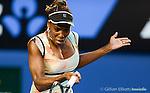 Venus Williams (USA) loses at Australian Open in Melbourne Australia on 18th January 2013