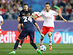 Atletico de Madrid's Gabi Fernandez (l) and Jose Maria Jimenez (c) and SL Benfica's Jonas during Champions League 2015/2016 match. September 30,2015. (ALTERPHOTOS/Acero)