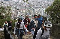Ascenso Monserrate  con pandemia,6-09-2020