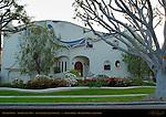 O'Neill House, Tom Oswalt 1988, Antoni Gaudi Art Nouveau, Rodeo Drive, Beverly Hills, California
